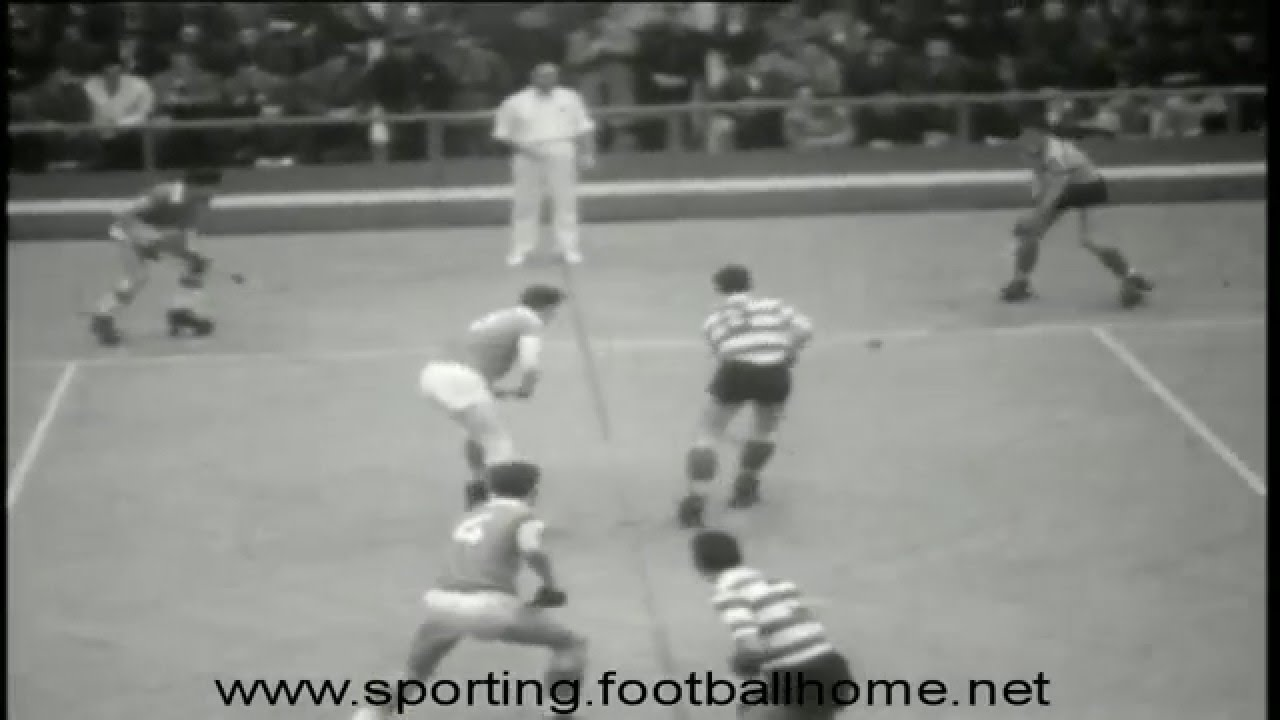 Hoquei Patins :: Sporting x Benfica nos anos 60 no Pavilhão dos Desportos (Actualmente Pavilhão Carlos Lopes)