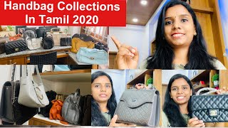 Handbag Collection 2020 in Tamil|Affordable Bag Collections|Kutty Story Of My Handbags In Tamil