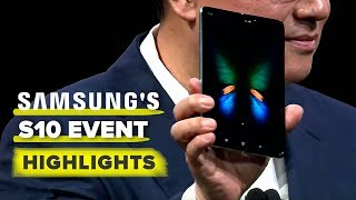 Samsung's S10, Galaxy Fold event highlights