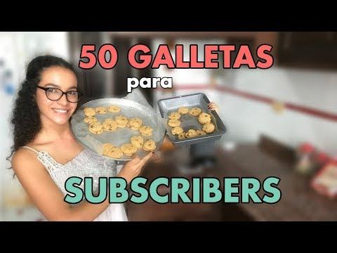 50 GALLETAS PARA MIS 50 SUBSCRIBERS