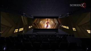 Captain Marvel in ScreenX | Trailer
