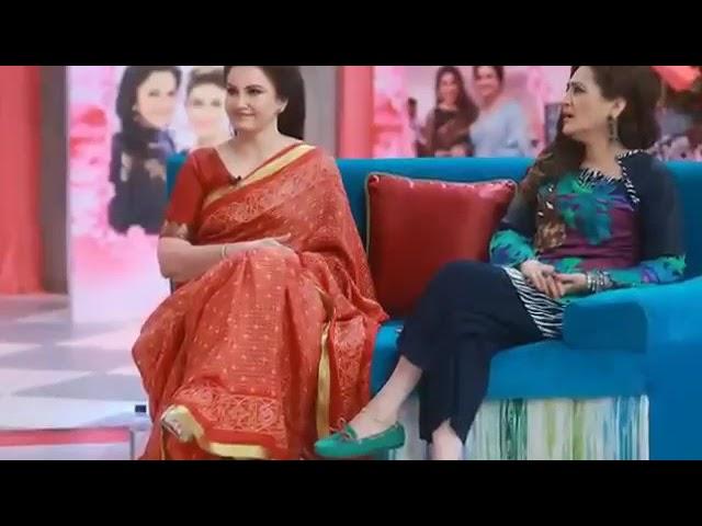 Saba faisal and sadia faisal at geo pakistan