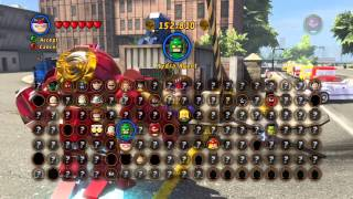 Lego Marvel Superheros Cheatcodes!