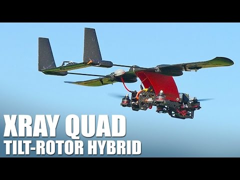VTOL Hybrid - AimDroix Xray Quad | Flite Test
