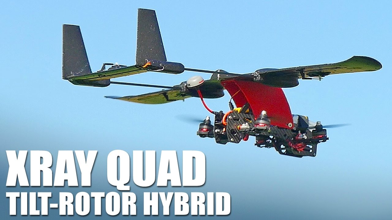 News Aimdroix XRay VTOL Nano Skyhunter Conversion Kit - RC