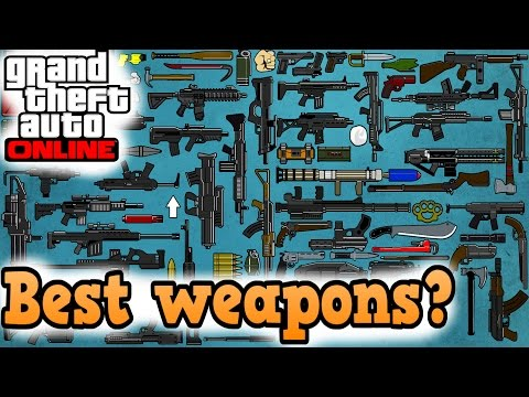 GTA online guides - Best weapons of every class
