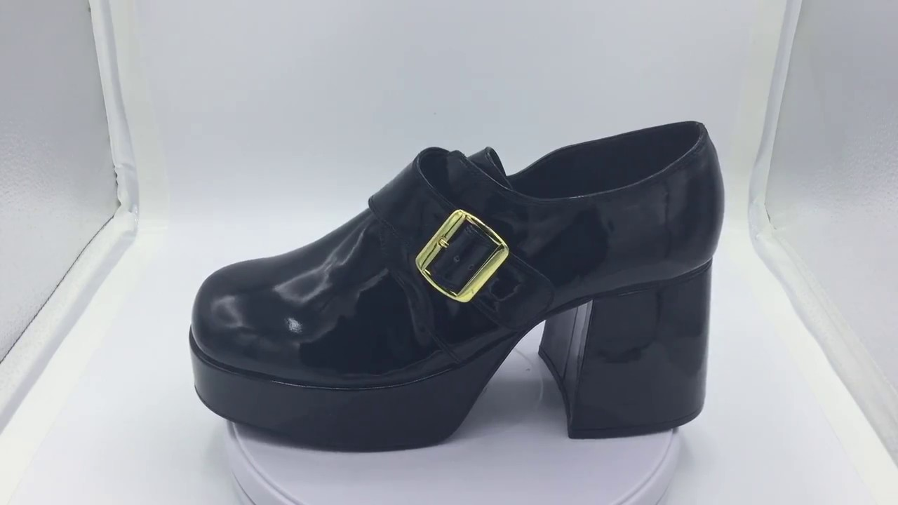 gran descuento venta barata ee. apariencia estética Zapatos de plataforma JAZZ-03 para hombre de estilo vintage con hebilla
