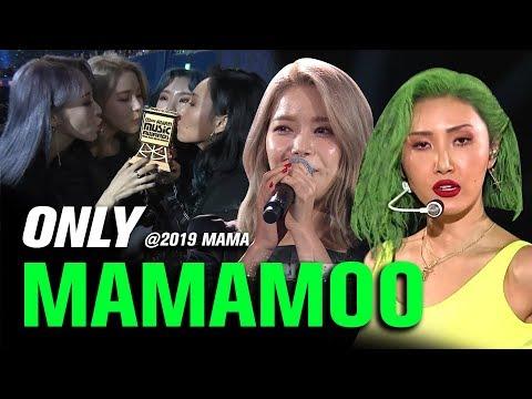 MAMAMOO() at 2019 MAMA All Moments