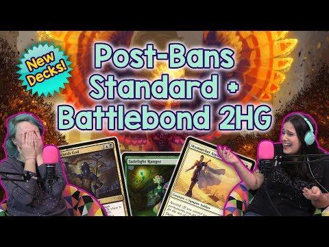 Top Standard Decks after the Bannings, 2-Headed Giant Draft?! + Battlebond News