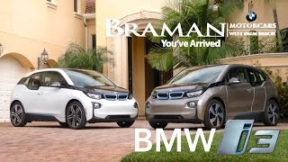 bmw i3 test drive in palm beach   braman bmw wbp