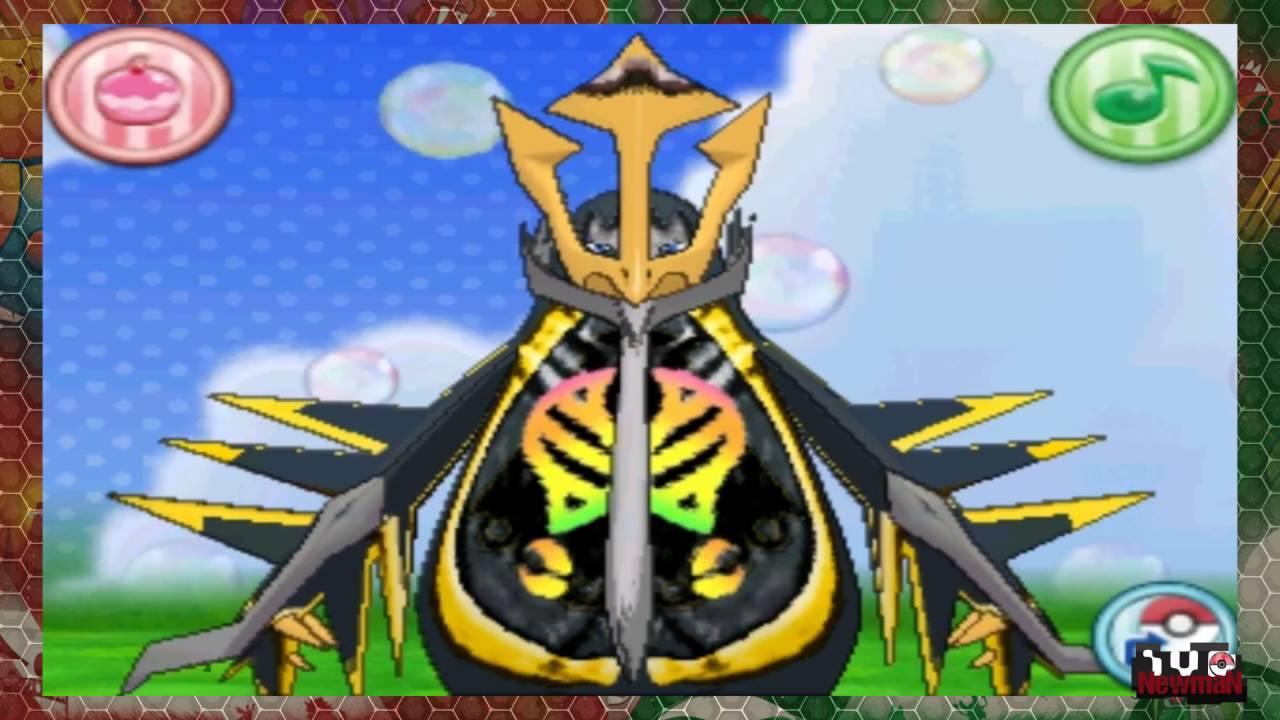 Pokemon Roza Mega Empoleon Lunala Mega Gardevoir Fusion Hack Youtube