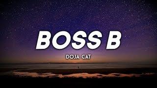 Doja Cat - Boss B (Clean - Lyrics)