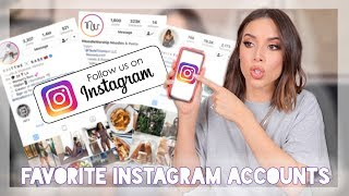 My top instagram accounts (lifestyle ...