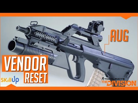 The Division | Weekly Vendor Reset (18th Mar) Feat. SASG, AUG A3P, MG5 + M4 Blueprint