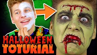 4_nemme_HALLOWEEN_MAKE_UP_Tutorials_|_Lakserytteren