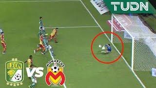 ¡Tremenda reacción de Cota!   León 0 - 0 Morelia   Liga Mx - AP 19 - Cuartos de final   TUDN