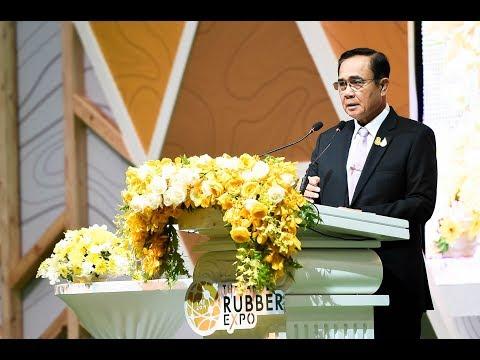 """นายกรัฐมนตรีเป็นประธานในพิธีเปิดงาน """"THAILAND RUBBER EXPO 2019"""""""