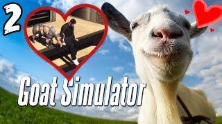 Goat Simulator #2 : فوق السطوح عشّاق !