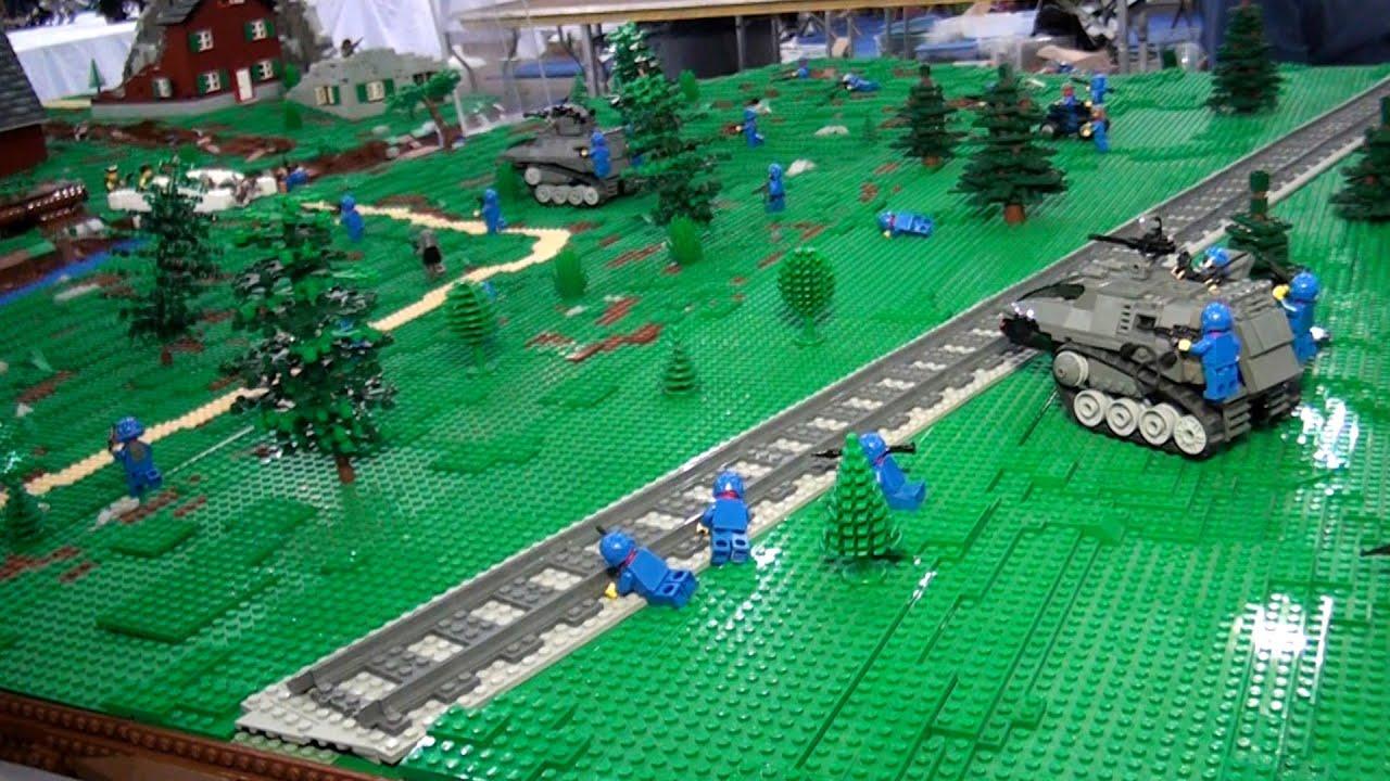 Lego Headquarters Huge Lego Gi Joe Cobra Battle Pt 1 Brickfair Virginia