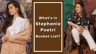 Rapid Fire Questions with Stephanie Poetri