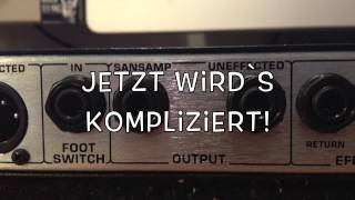 SANSAMP RBI Demo Test Gear check German / Deutsch ( Roxor Rockstore)