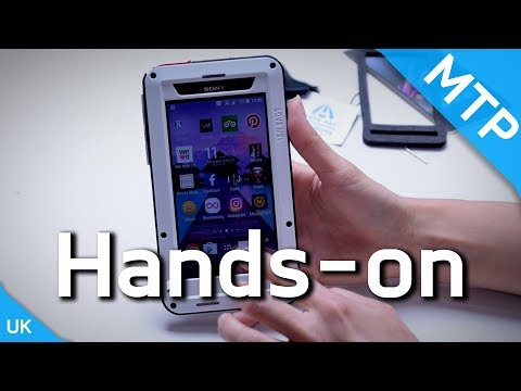 Love Mei Rugged Case - Hands On Video - MyTrendyPhone