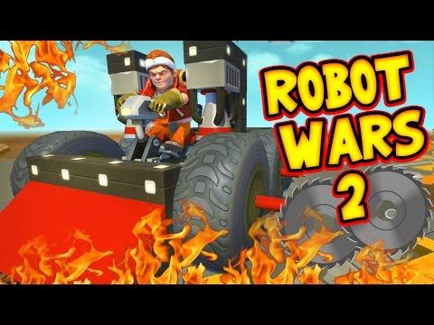 Scrap Mechanic! - ROBOT WARS 2 CHALLENGE! Vs AshDubh - [#39] | Gameplay |