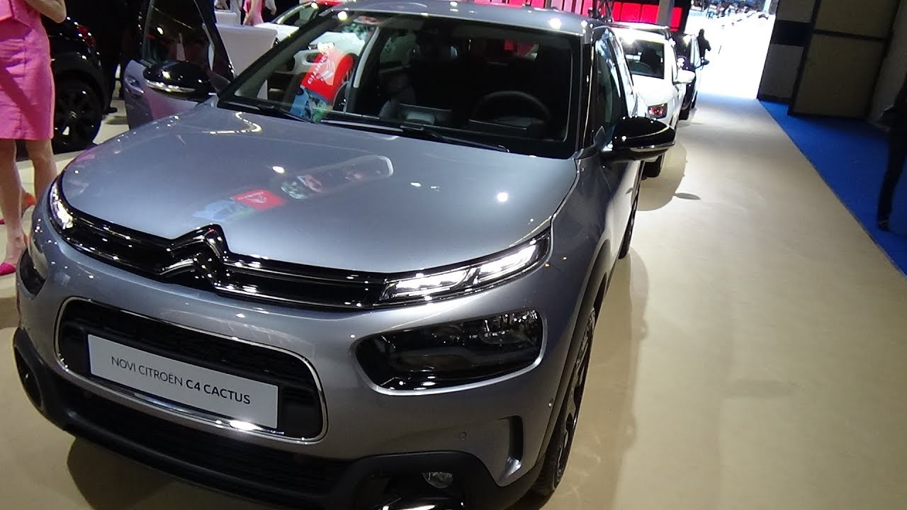 2018 citroen c4 cactus shine bluehdi 100 exterior and interior zagreb auto show 2018 youtube. Black Bedroom Furniture Sets. Home Design Ideas