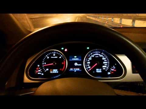 Разгоняю Audi Q7