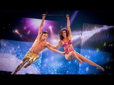 Lucy Mecklenburgh's Trapeze performance to 'Born This Way' - Tumble: Grand Final - BBC One