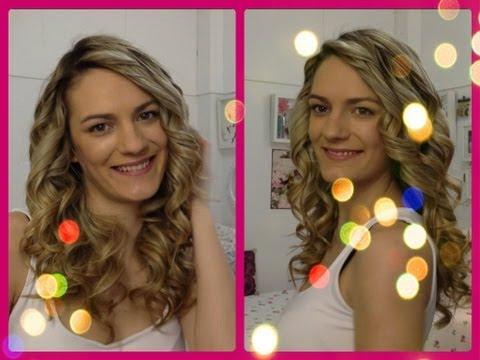 Πώς να κάνω μπούκλες...Εύκολος τρόπος με το ψαλίδι ισιώματος | Chic Beauty by Marinelli