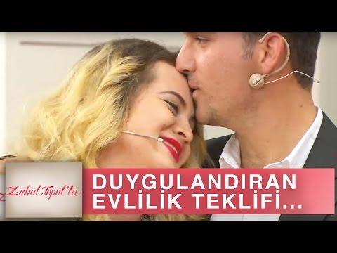 Zuhal Topal'la 190. Bölüm (HD) | Lenfoma Hastası İsmail'den Çocukluk Aşkı Burcu'ya Evlilik Teklifi