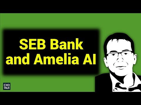 IPsoft Amelia AI: Customer Service at SEB Bank