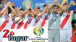 CAMPAÑA PERU SEGUNDO LUGAR    SUBCAMPEON COPA AMERICA BRASIL 2019