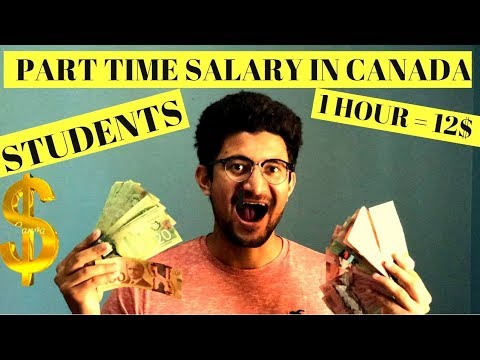 International Student Salary in Canada | Part time Job salar