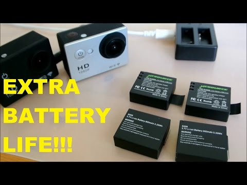 Sony Action Cam Battery Life Wifi