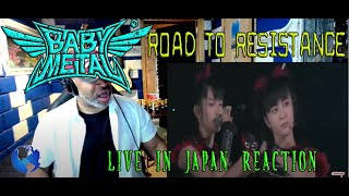 BABYMETAL  Road of Resistance | Live in Japan (OFFICIAL) - Producer Reaction YouTube Videos