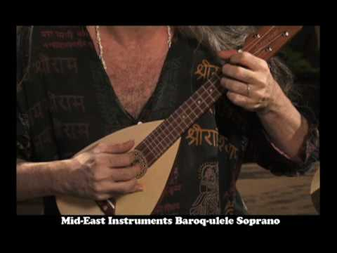 Greensleeves Ukulele Bartt On Mid East Baroq Ulele