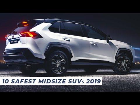 10 Safest Suv 2019 Affordable Safe Midsize Suv 2020 Youtube
