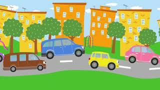 Развивающие и обучающие мультики про машинки и животных: Бип - бип (детские песенки)