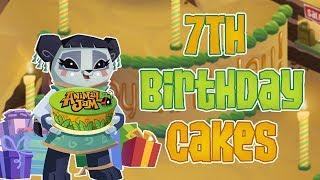 Animal Jam: 7th Birthday Cake Shops!