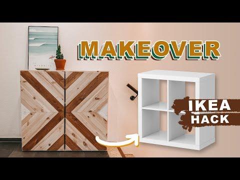DIY Schuhregal + IKEA Upcycling Hack | Brettertür Aus Holz Selber Bauen | EASY ALEX