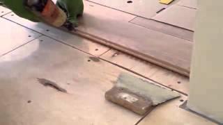 Укладка массивной доски дуб(Купить напольные покрытия можно в магазине http://a-parket.com/, 2014-06-08T11:05:20.000Z)