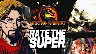 RATE THE SUPER X Ray Edition Mortal Kombat 9