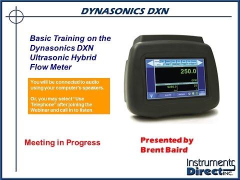 Basic Training on the Dynasonics DXN Ultrasonic Hybrid Flow Meter
