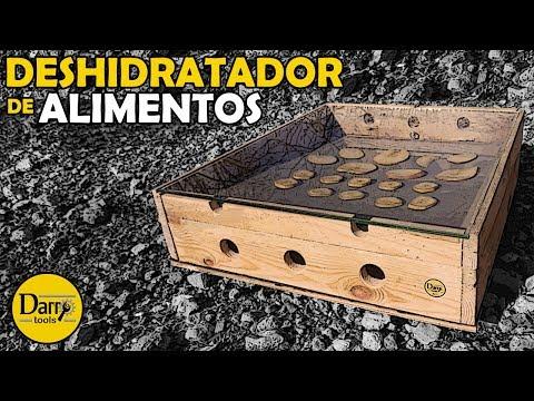 DESHIDRATADOR DE ALIMENTOS CASERO