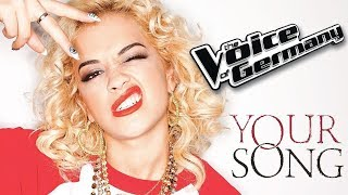 Rita Ora - Your Song (The Voice of Germany S07E09 16/11/2017) [1080p / HQ Audio]