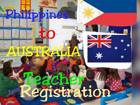Philippines To AUSTRALIA Teacher Registration #Become A Registered Teacher In Australia
