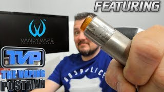 Vandyvape Phobia RDA, designed by Alex vapersMD.....Build, wick and review!