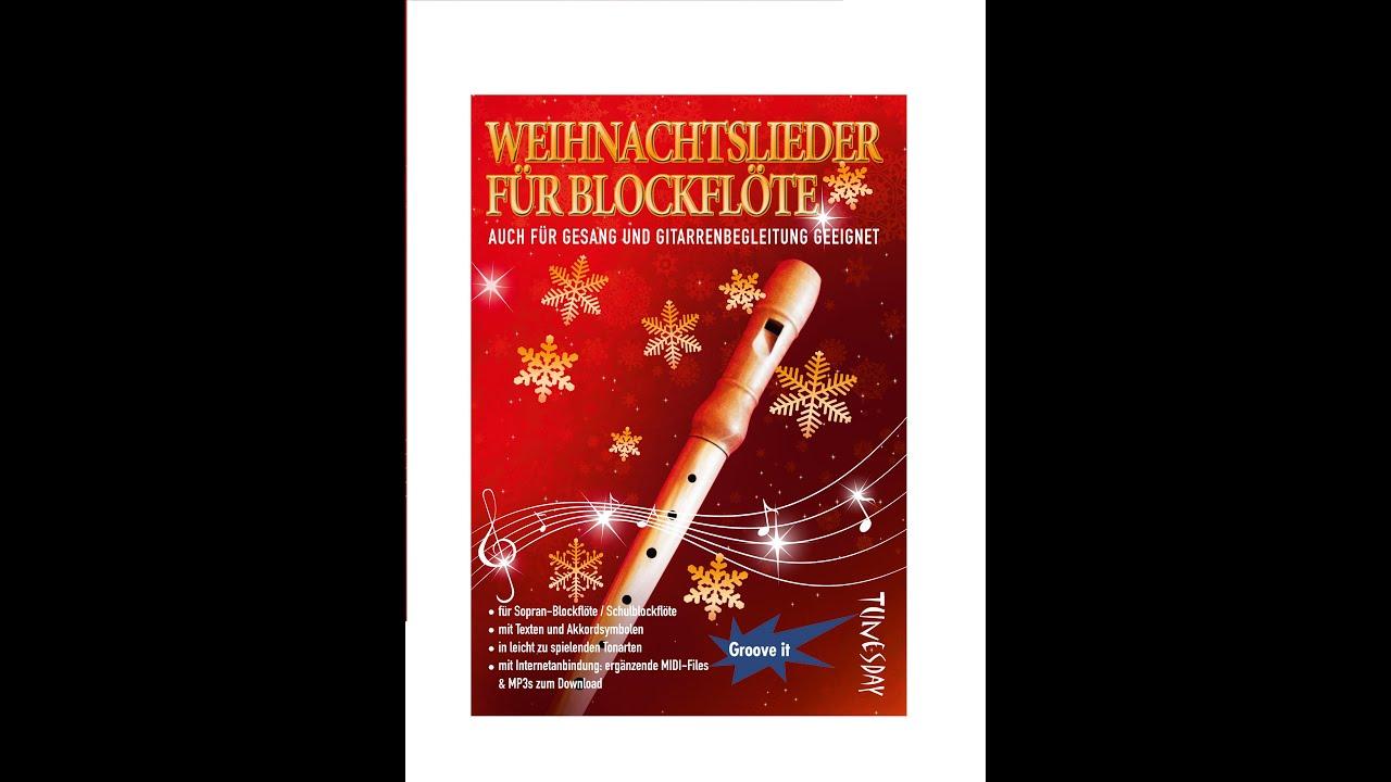Weihnachtslieder für Blockflöte - Noten & MP3 MIDI Download - YouTube
